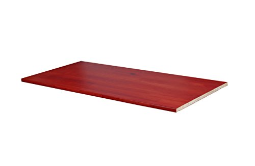 (100% Solid Wood Optional Shelf for 2- and 3-Sliding Door Wardrobes/Armoires/Closets by Palace Imports, Mahogany Color, 34.5