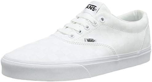 vans doheny men's checkerboard skate shoes
