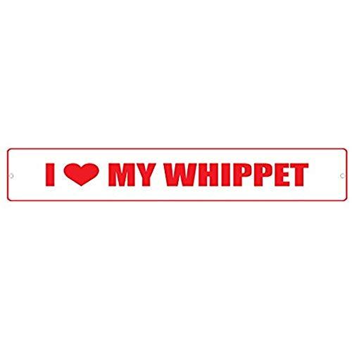 Whippet Dog I Love 4