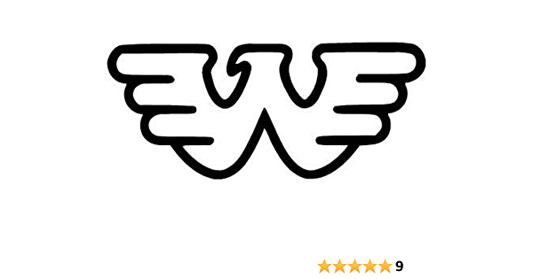 6 inch Waylon Jenning Band Vinyl White Decal Sticker for Cars//Laptops//Windows