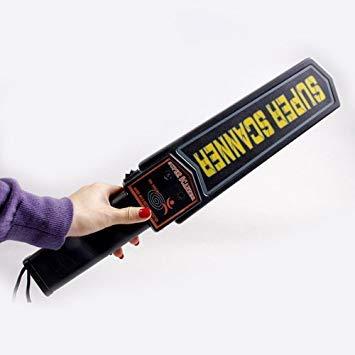 Portable Detector de Metal Portátil De mano Con Alerta de Vibración y Sensibilidad Ajustable