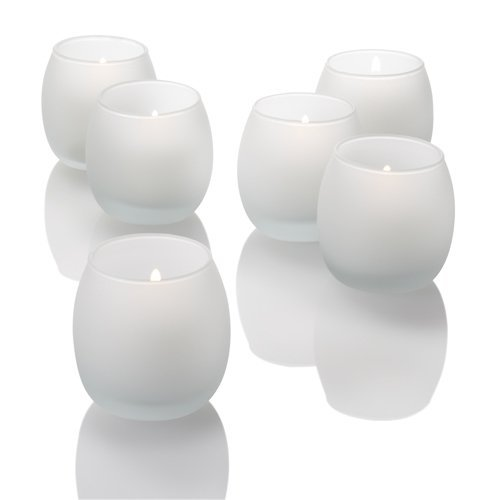 (Eastland Petite Hurricane Votive Holders Frosted Set of 36)