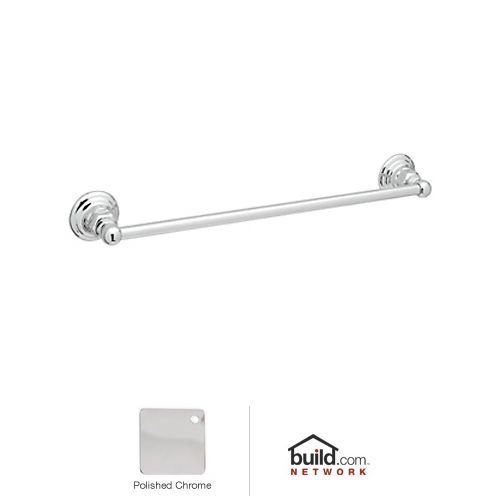 Rohl ROT1/24APC Country Bath Single Towel Bar in Polished Chrome, 24-Inch by Rohl