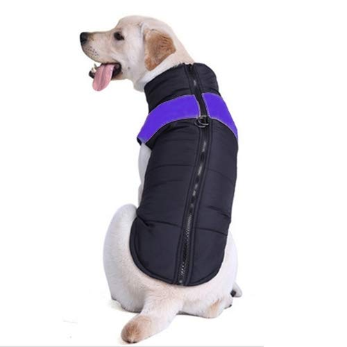 Purple Pet Supplies Pet Clothes Cotton Dog Vest Skit Suit, Size  4XL, Chest  63cm, Back Length  55cm (color   Purple)