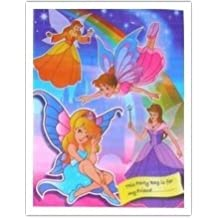 Girls Princess Fairies Party Loot Bags ~ Pack of 6 Party Loot Bags