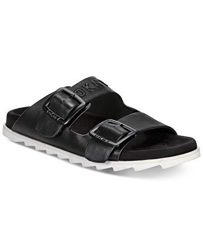 DKNY Maya Flat Sandals Black Size -