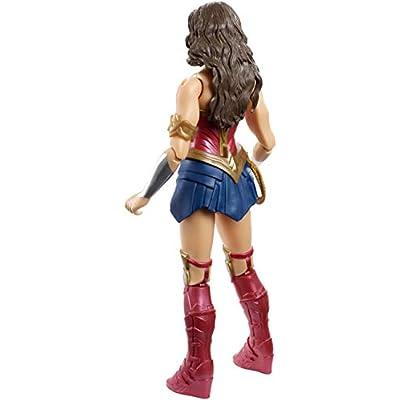 Mattel DC Justice League True-Moves Series Wonder Woman Figure, 12