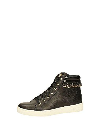 Sneakers Donna Nero Black Alte Guess Fl3gor Fal12 U4qPnqx