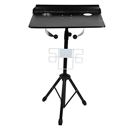 Tattoo Work Station,Adjustable Work Table for Tattoos,Compact Stand Professional Detachable Tattoo Mobile Workstation Stand Body Art Tattooing Permanent Makeup Equipment