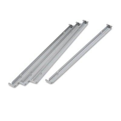 ALERA LF3036 Two Row Hangrails for 30quot; or 36quot; Files, Aluminum by Alera