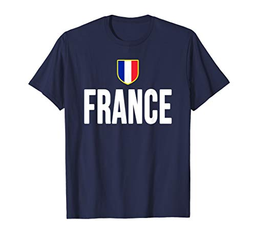 - France T-shirt French Flag Souvenir Gift Love