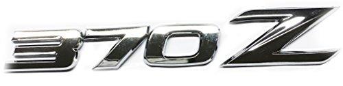 New Chrome 370Z Emblem Replaces OEM Rear Deck / Hatch / Trunk Badge 84895-1EA0A