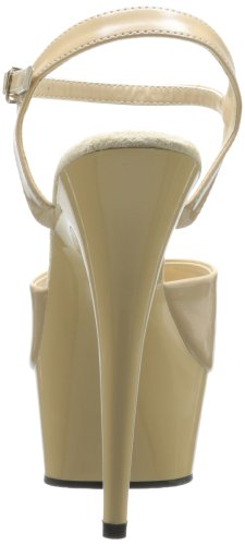 Pleaser DELIGHT-609 Cream/Cream Size UK 4 EU 37