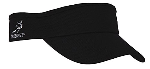 Headsweats Velocity Visor, Black,One Size (Headsweats Black Hat)