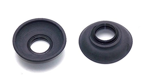 Two Deluxe Eye Cups for CANON F-1 Camera Bodies New F1 F-1N Eyecup NEW by Sonia