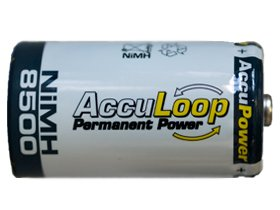 48 X D 8500 Mah Acculoop Low Discharge Nimh Rechargeable Batteries by AccuPower