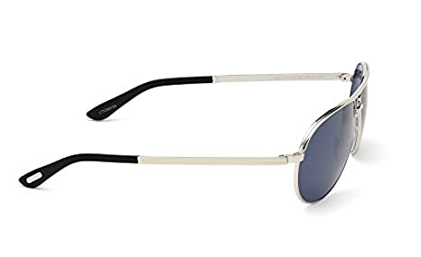 f1f92d2f92b Amazon.com  TOM FORD FT0144 Marko Sunglasses Shiny Rhodium w  Blue (18V)  TF144 18V 58mm  Clothing
