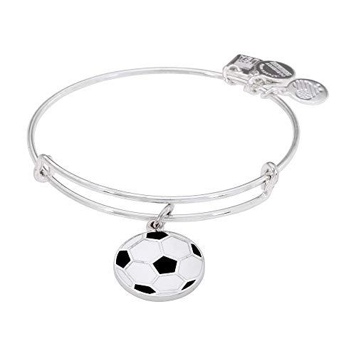 Alex and Ani Women's Team USA Soccer Bangle Shiny Silver One -