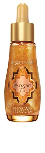 Physicians Formula Argan Wear Ultra-nourishing Illuminating Argan Oil, Touch of Gold, 1 Fluid Ounce
