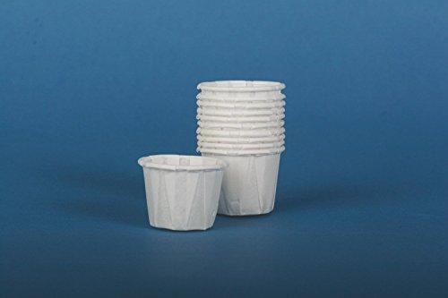 NON024215H - Disposable Paper Souffle Cups,White