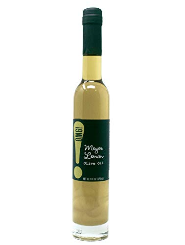 OMG!: Olive Oil | Your favorite EVOO with a twist | As found in Pike Place Market | Perfect for dipping, sautéing veggies and meats, salads & even baking. (Meyer - Bread Lemon