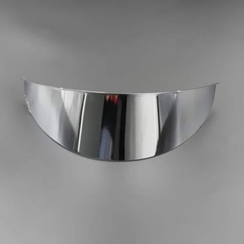 - Universal Motorcycle 7'' Headlight Visor Chrome For Honda Kawasaki Suzuki Yamaha Dual Sport Bike Cruiser Bobber Chopper Custom