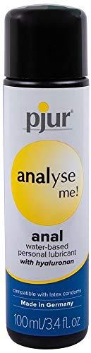 (Pjur - ANALYSE ME Water-Based Lubricant, 3.4 Fluid Ounce / 100 Milliliter)