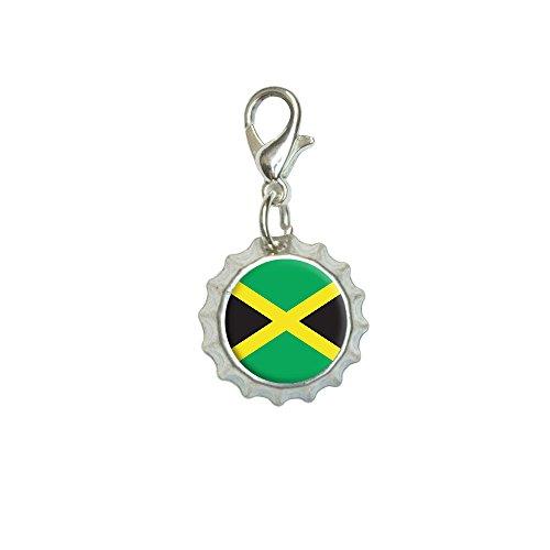 Jamaica Jamaican Bracelet Pendant Bottlecap