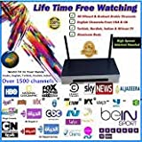 Hd800 Arabic Iptv Box Over 1500 Free Channels.