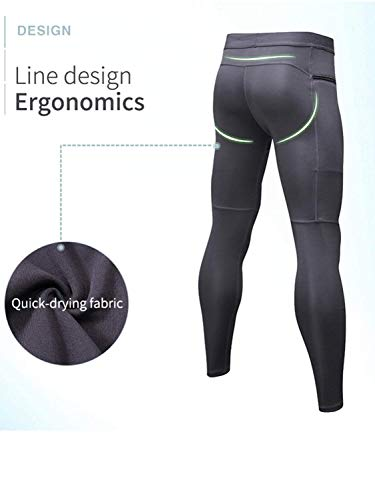 Compression Sports Leggings Baselayer Pantalons Cool Pour Training Dry Rouge Serrés Hommes Pack De Blanc Marine 3 Sanang 0E8xnBB