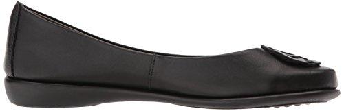 Women's Cashmere Flexx Flat Black Bon The Ballet Plush H1570qw