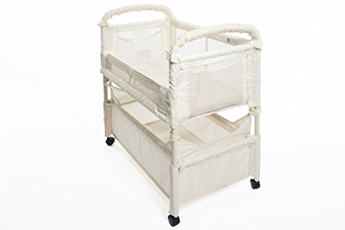 Natural Clear-Vue Bassinet with Mattress & 1 Fitted Sheet