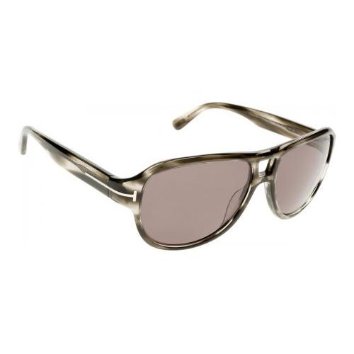 TOM FORD Men's Dylan TF446 20A grey Gray Aviator Sunglasses 57mm by Tom Ford