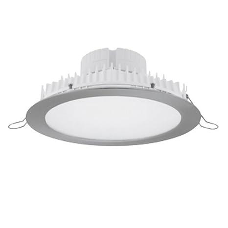 Prilux silver led - Empotrable viena led 25w 230v 4200k niquel: Amazon.es: Iluminación