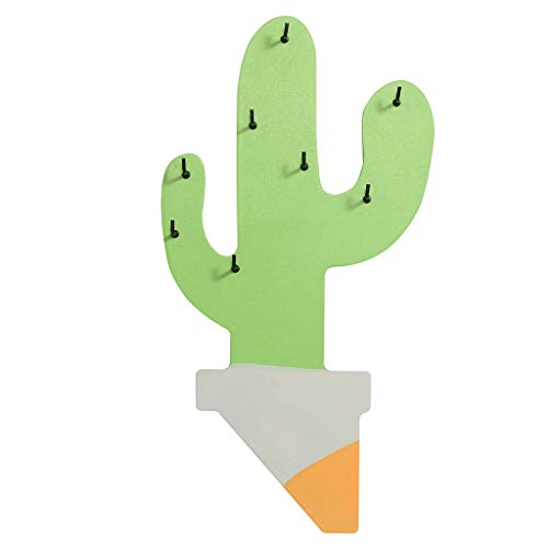 Storage Hook,ZTY66 Creative Multi-Purpose Newest Cactus Plants Wall-Mounted Storage Key Hook