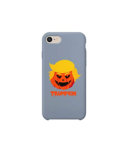 Trumpkin Trump Pumpkin Halloween Scary Funny MT_003015 Protective Case Cover Hard Plastic Compatible with for iPhone 7 Funny Gift Christmas Birthday -