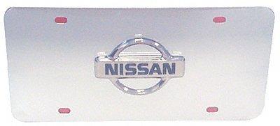 Auto Gold NISCC Nissan Logo Chr/Chr Plate