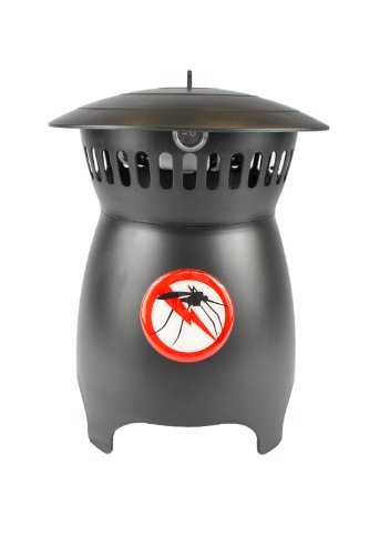 Outdoor Electric Plug In Mosquito Trap Catcher For Home and Garden Black -...