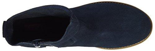 s.Oliver 25433, Botines para Mujer Azul (NAVY 805)