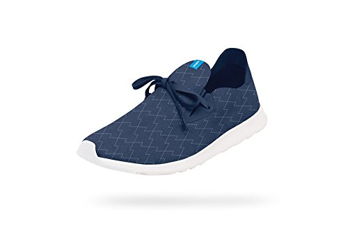 Embroidery Moc lightning Fashion shell Native Blue Sneaker Unisex White Regatta Apollo TqnW4wRxpF