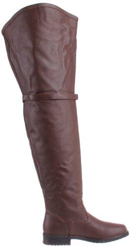 Pleaser Stiefel MAVERICK-2045 - Leder Braun 41 EU