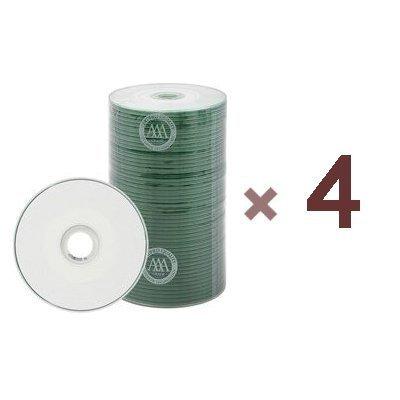 400 Prodisc Spin-X 32x MINI CD-R Blank Media 22Min 193MB White Inkjet Hub with Free Vinyl Sleeves by Prodisc