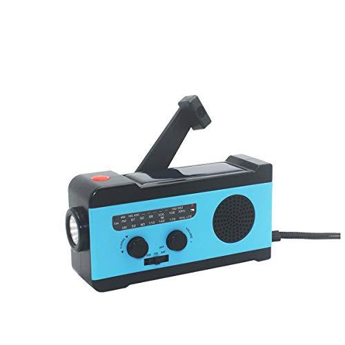 VOSAREA Portable Radio FM Receiver Emergency Radio with Alarm Clock FM Radio FM Receiver by VOSAREA (Image #3)