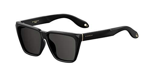 Givenchy GV 7002 N S 08A M9 Black Sunglasses Gray Polarized