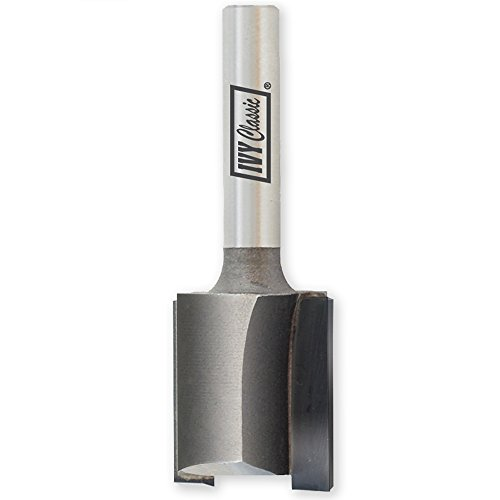 (IVY Classic 10813 23/32-Inch Carbide Mortising Router Bit FOR 3/4-INCH PLYWOOD, 1/4-Inch Shank,)