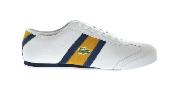 konkretna oferta specjalne do butów ujęcia stóp Amazon.com | Lacoste Tourelle COL SPM Leather White/Dark ...