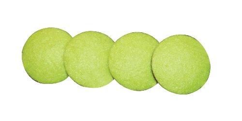 Drive Medical remplacement balle de tennis Pads Glide pour patins d'entraînement médical balle de tennis, jaune
