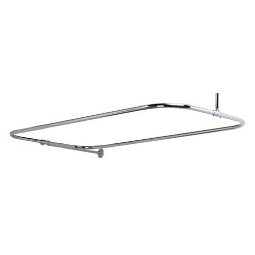 barclay-rectangular-shower-rod-with-side-wall-support-18-inch