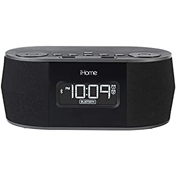 16d8a812ce1 iHome iBT38G Bluetooth Stereo Dual Alarm Clock Radio - Featuring Melody
