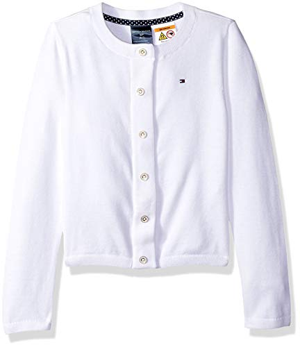 Tommy Hilfiger Adaptive Girls Cardigan with Magnetic Buttons